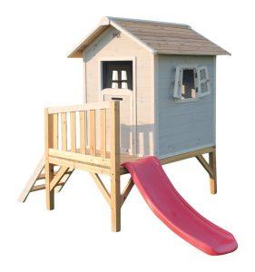 Cabaña infantil de madera