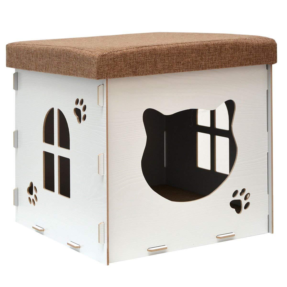 Casa para gatos pequeña