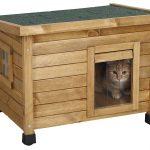 Caseta para gatos de madera