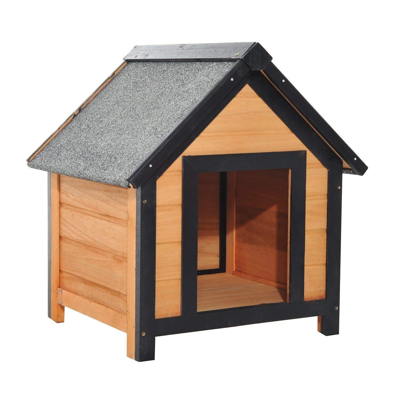 Caseta para perros de madera
