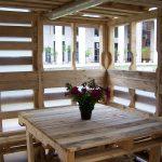Mesita de palets de madera