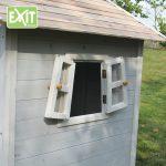 Ventana casita de madera infantil