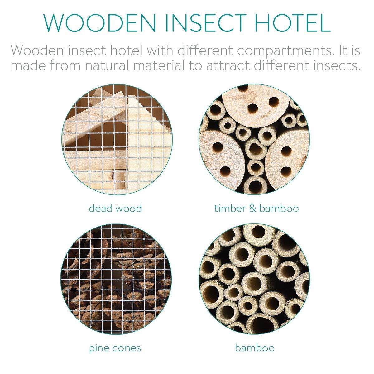 Hotel de Insectos de madera