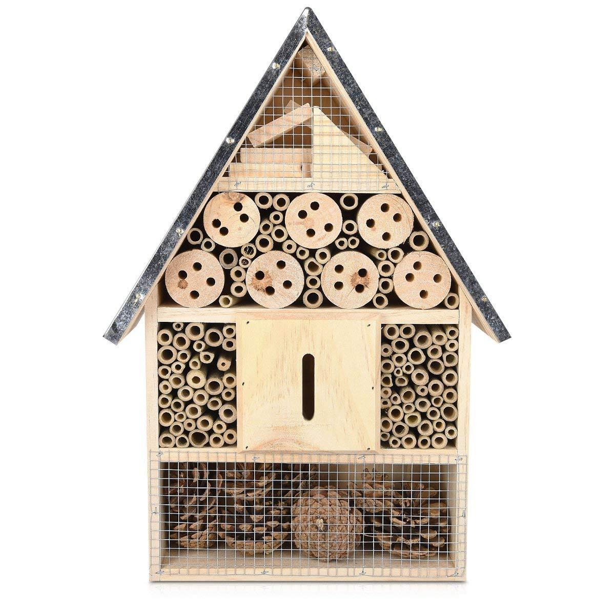 Hotel para Insectos de madera
